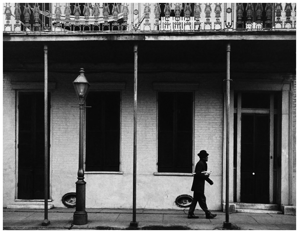 Dennis Stock – Ernest Miller – USA. New Orleans, Louisiana.1958