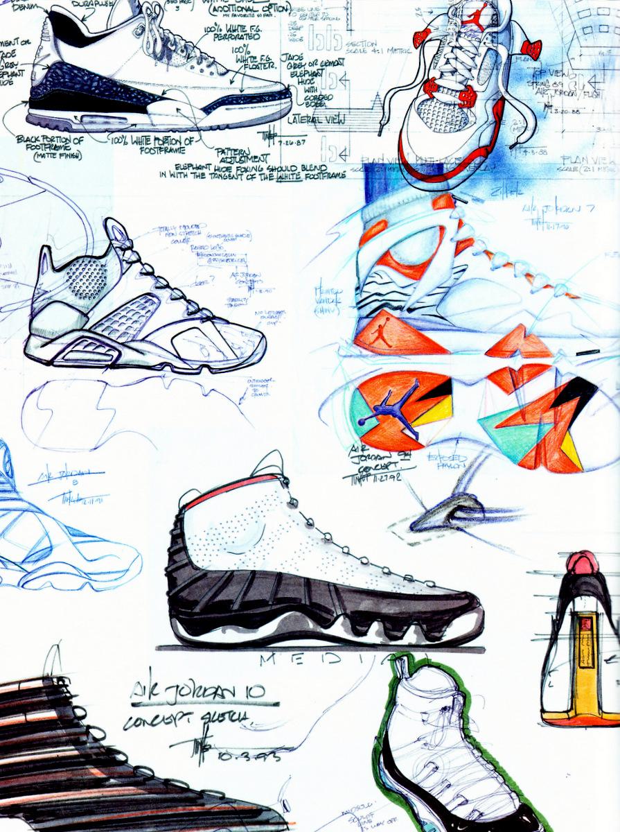 tinker-hatfield-sketches