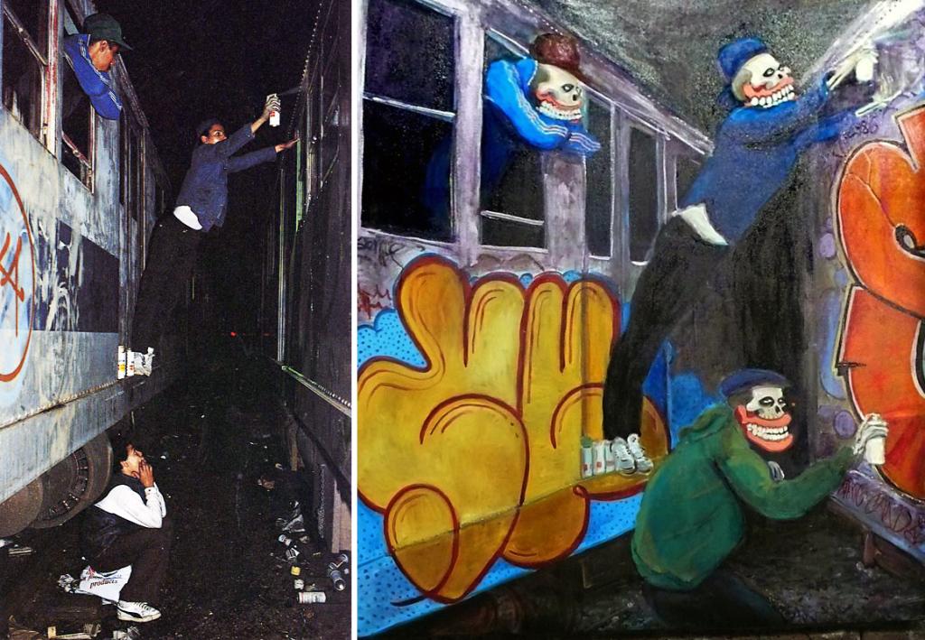 Brooklyn-Street-Art-Train-Writers-SweetToof-and-the-original-Martha-Cooper
