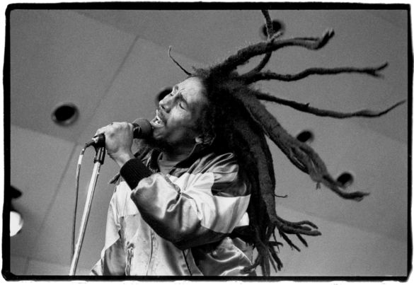 Bob Marley at Crystal Palace Bowl, London Last show in UK, 5/1980