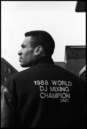 DJ Cash Money in London UK on 10 March 1988