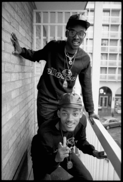 Jazzy Jeff & Fresh Prince  London 21 October 1986