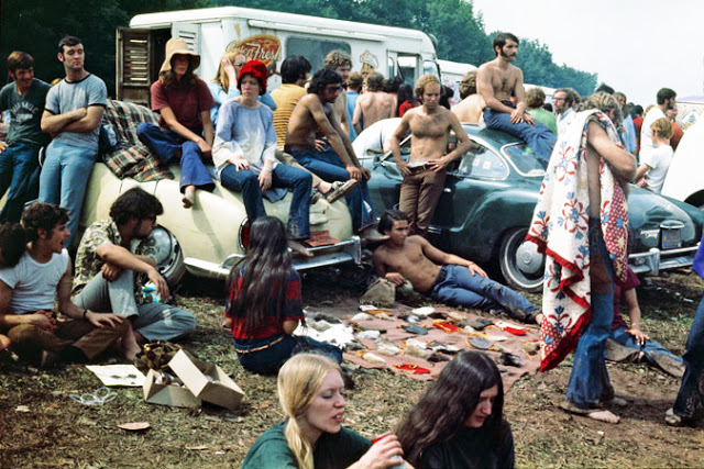 Photos of Life at Woodstock 1969 (29)