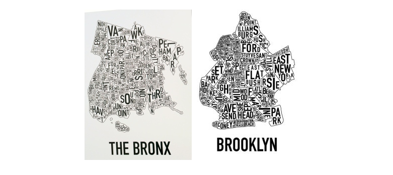 new york map vectorial