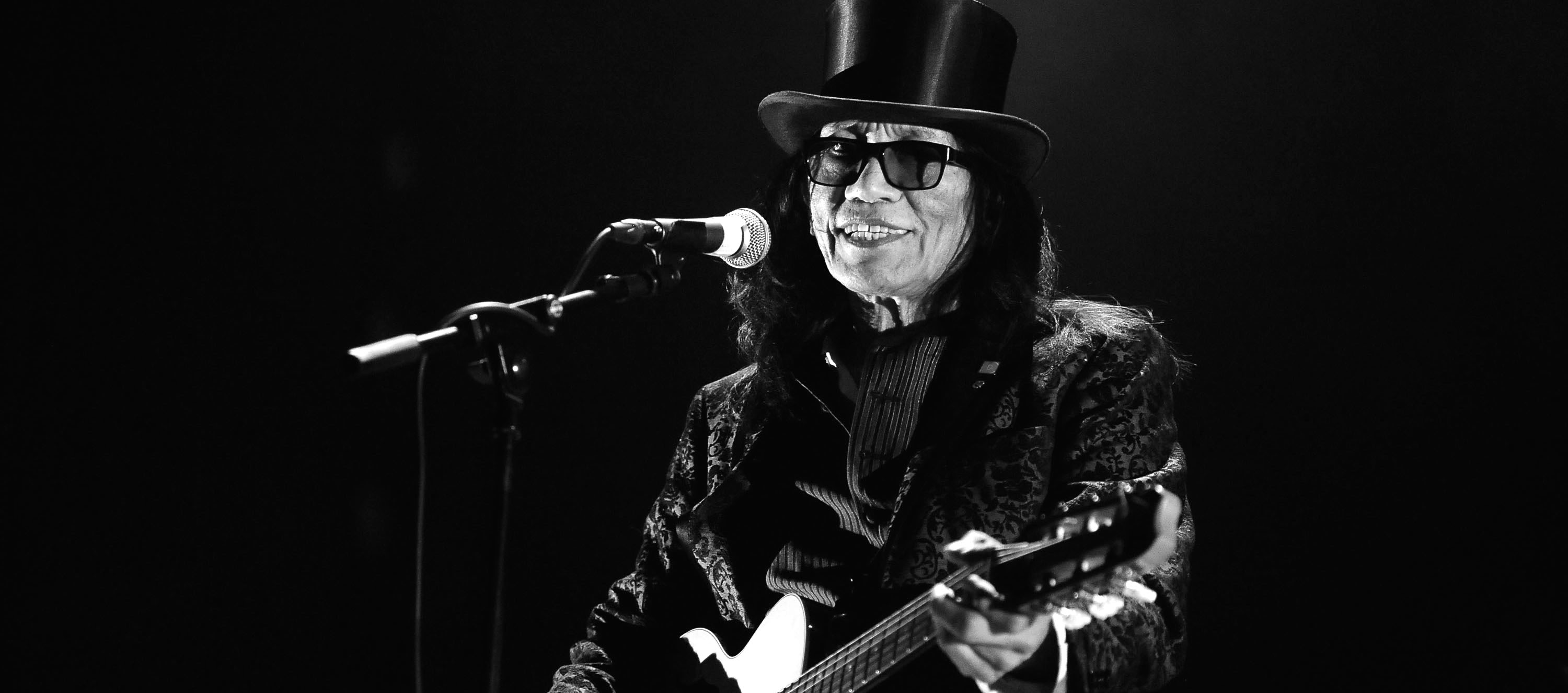 Sixto Rodriguez Performs In Bologna